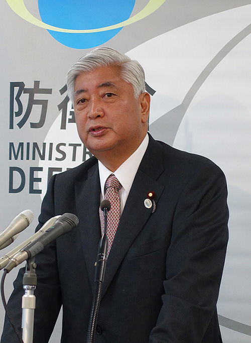 タテ中谷元防衛大臣500