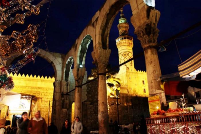 151003kubota02世界最古と言われるウマイヤドモスク