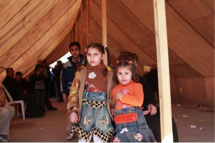 難民の子供たち