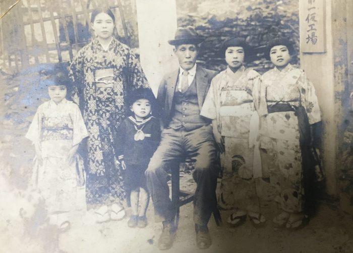 湾生・竹中さん家族