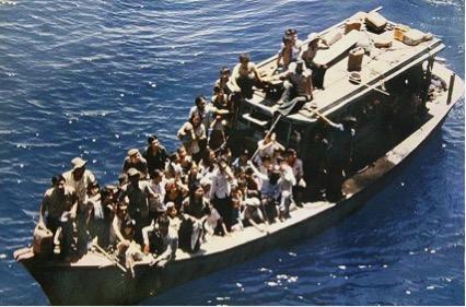ベトナムボートピーブル